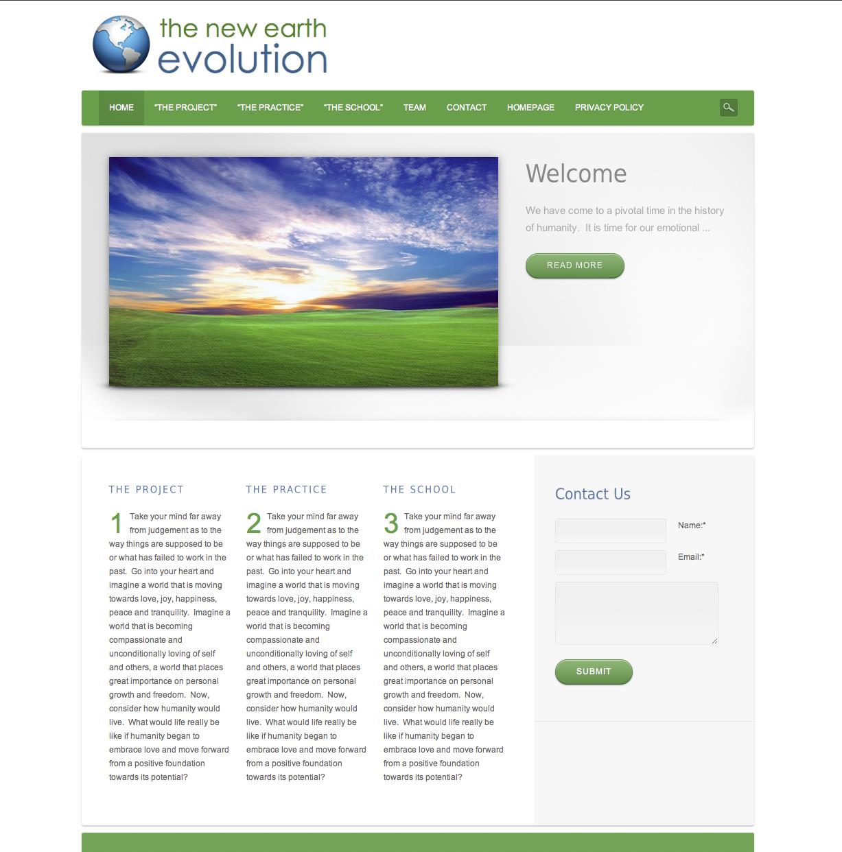 New Earth Evolution